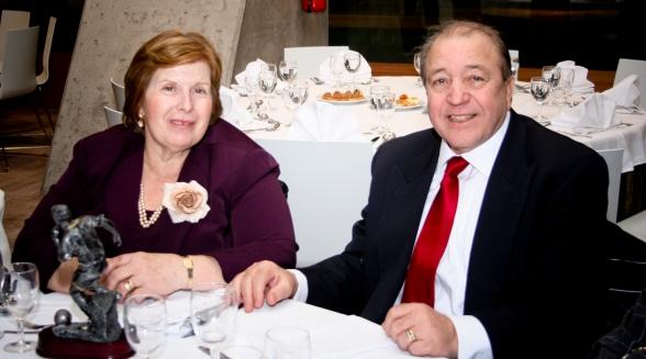 Virgínio Costa e esposa