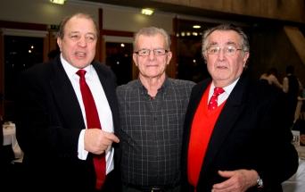 Virgínio Costa, Paulinho e Artur Pedro Cabral