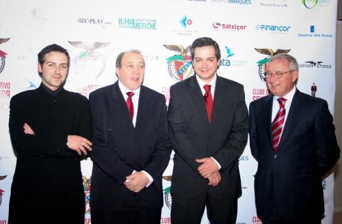 Virgínio Costa, André Domingues, Ricardo Domingues e Fernando Domingues