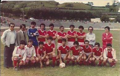 Estádio de S. Miguel | Equipa treinada por João Flores